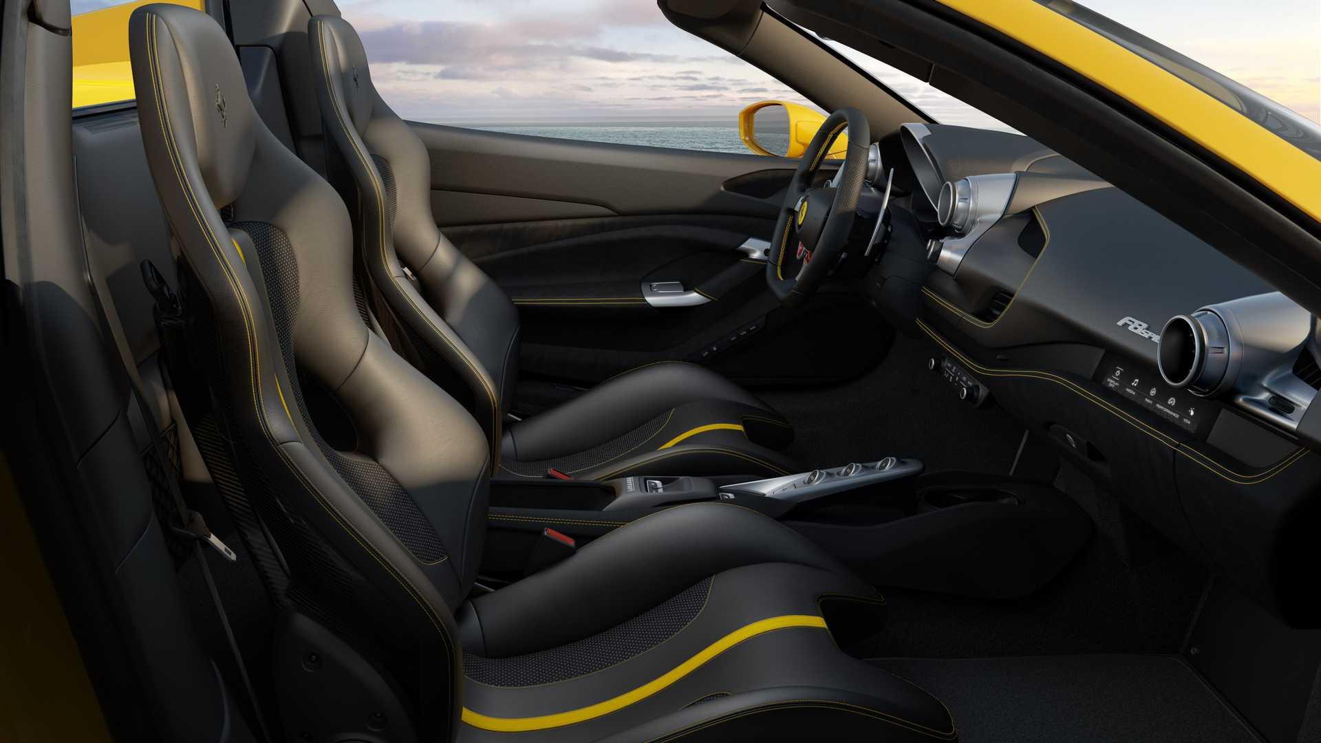 Ferrari giới thiệu phiên bản mui trần của F8 Spider - Hình 7