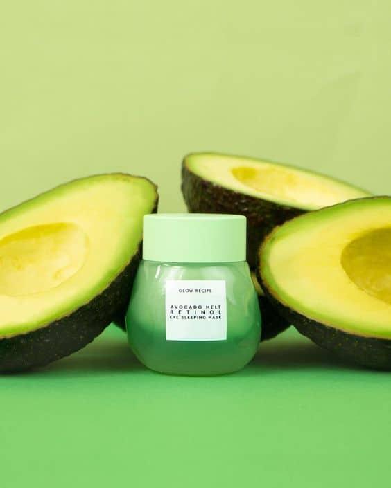 Glow Recipe's Avocado Retinol Eye Sleeping Mask - mặt nạ bơ mới toanh cho nàng những trải nghiệm mới khi dưỡng da - Hình 6