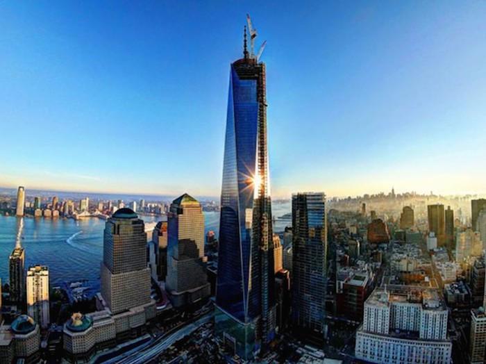 Hình ảnh Trung tâm thương mại New York 18 năm sau thảm họa 11/9 - Hình 4