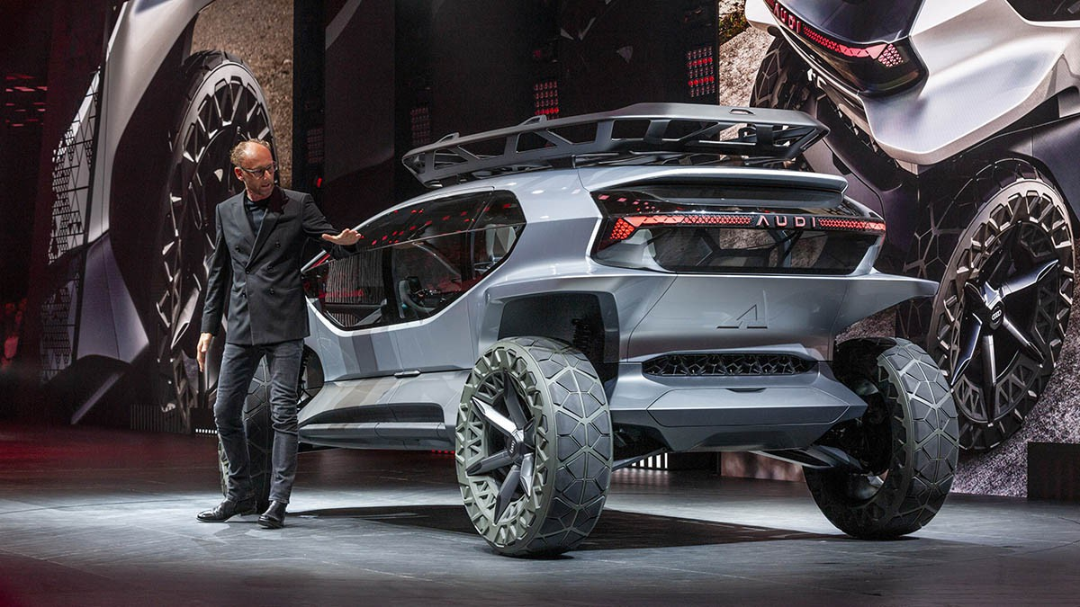 Audi đem dàn xe khủng trình diễn ở IAA Frankfurt, có cả quái thú địa hình - Hình 4