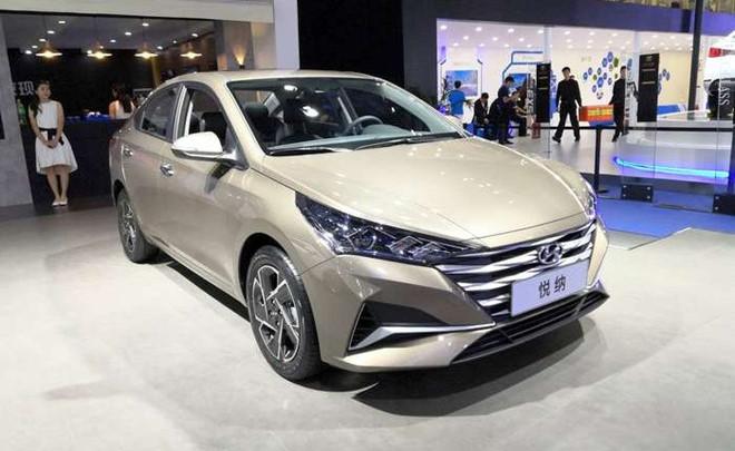 Hyundai Accent 2020 có ngoại hình khác lạ ở Trung Quốc - Hình 1