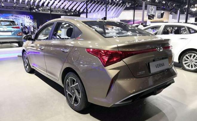 Hyundai Accent 2020 có ngoại hình khác lạ ở Trung Quốc - Hình 2