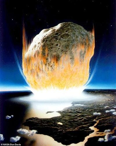 Khoáng vật lạ hé lộ ngày trái đất hóa địa ngục vì siêu tiểu hành tinh - Hình 3