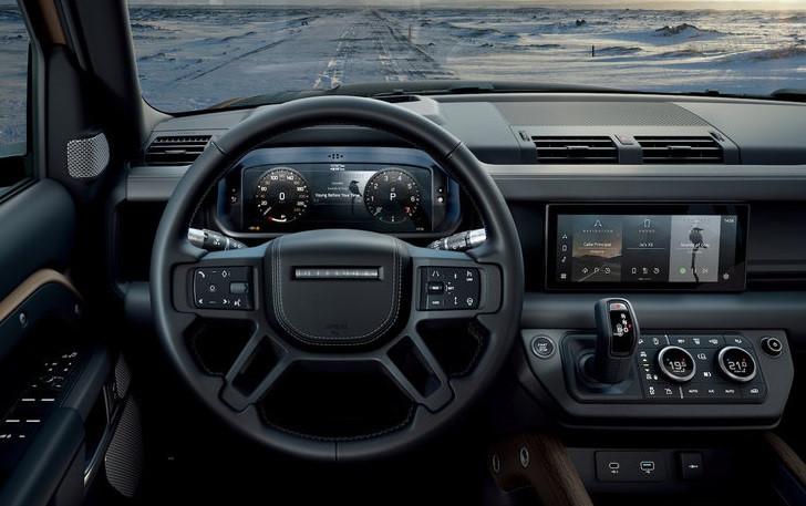 Land Rover Defender 2020 chính thức ra mắt, lạ lẫm và cục mịch - Hình 14