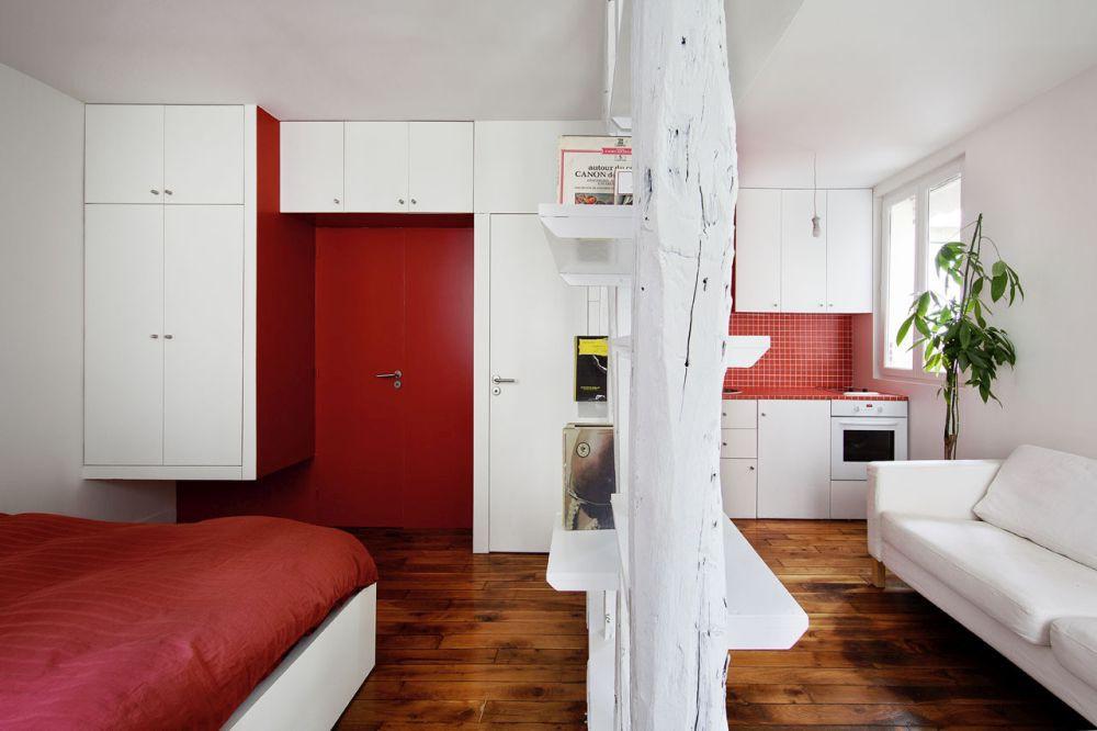 Nhà bếp nhỏ ở chung cư sẽ lột xác thoáng rộng trông thấy nhờ những ý tưởng siêu hay này - Hình 17