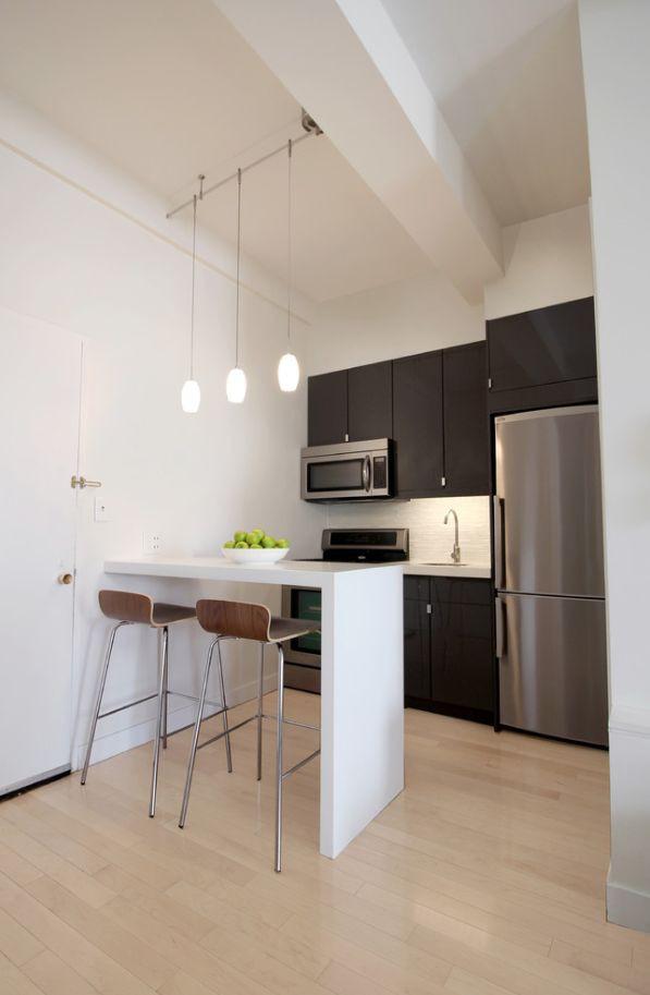Nhà bếp nhỏ ở chung cư sẽ lột xác thoáng rộng trông thấy nhờ những ý tưởng siêu hay này - Hình 10