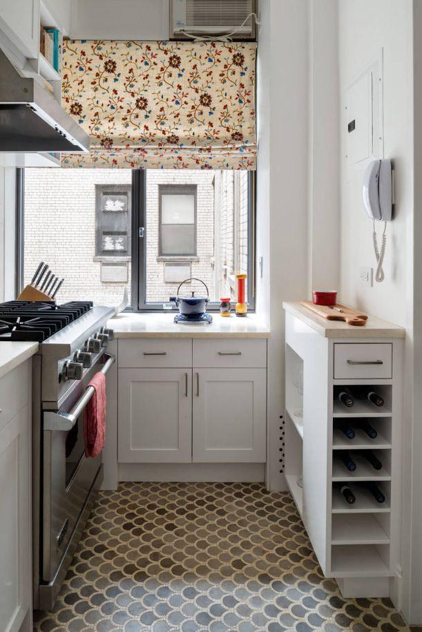 Nhà bếp nhỏ ở chung cư sẽ lột xác thoáng rộng trông thấy nhờ những ý tưởng siêu hay này - Hình 6