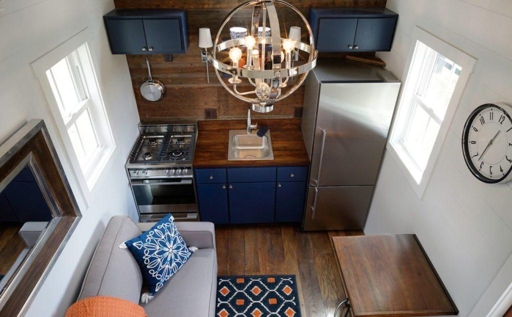 Nhà bếp nhỏ ở chung cư sẽ lột xác thoáng rộng trông thấy nhờ những ý tưởng siêu hay này - Hình 9