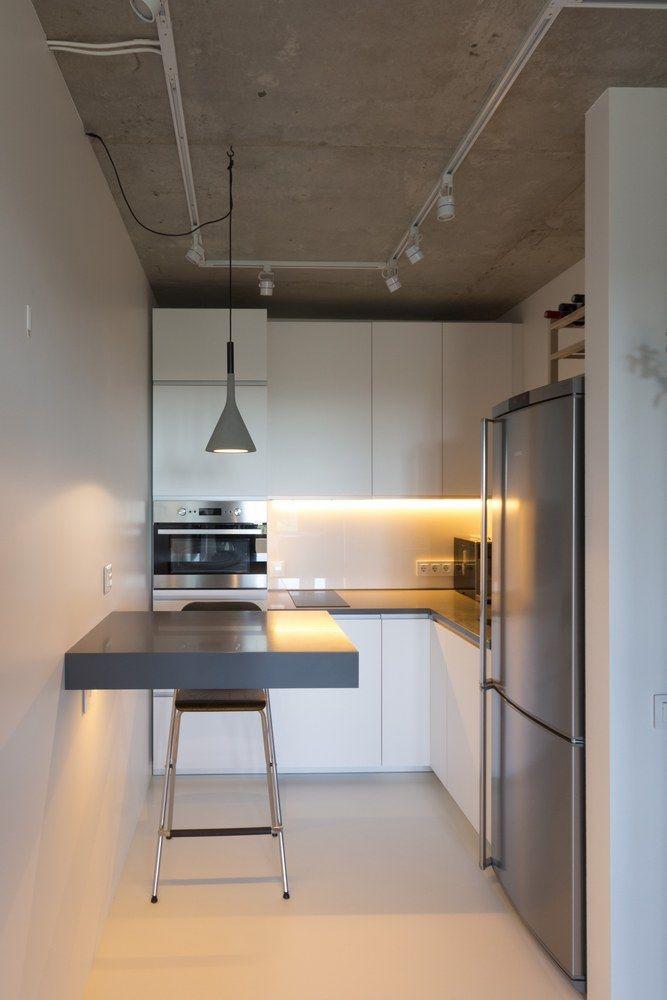 Nhà bếp nhỏ ở chung cư sẽ lột xác thoáng rộng trông thấy nhờ những ý tưởng siêu hay này - Hình 18