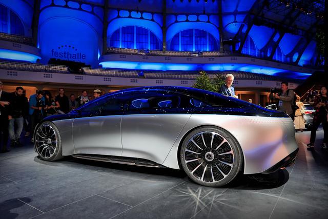 Chiêm ngưỡng Mercedes Vision EQS: Đỉnh cao thiết kế từ trong ra ngoài - Hình 3