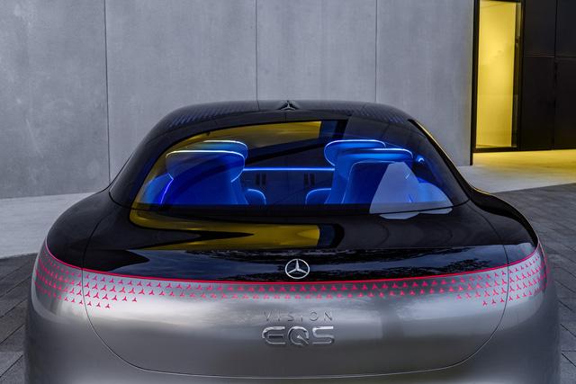 Chiêm ngưỡng Mercedes Vision EQS: Đỉnh cao thiết kế từ trong ra ngoài - Hình 12