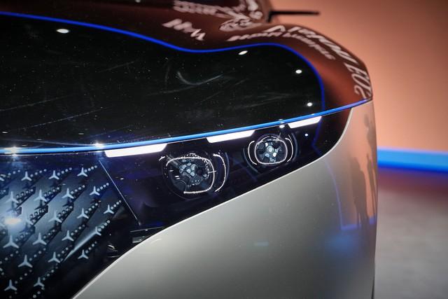 Chiêm ngưỡng Mercedes Vision EQS: Đỉnh cao thiết kế từ trong ra ngoài - Hình 4