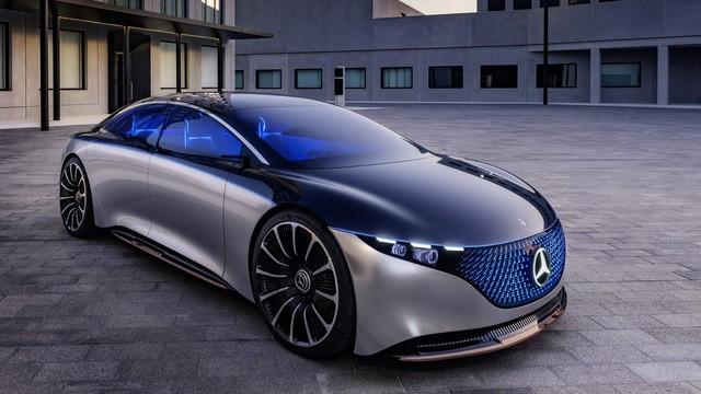 Chiêm ngưỡng Mercedes Vision EQS: Đỉnh cao thiết kế từ trong ra ngoài - Hình 1