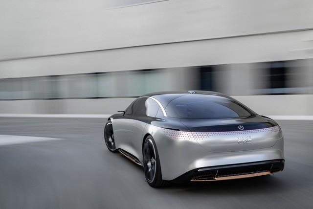 Chiêm ngưỡng Mercedes Vision EQS: Đỉnh cao thiết kế từ trong ra ngoài - Hình 11