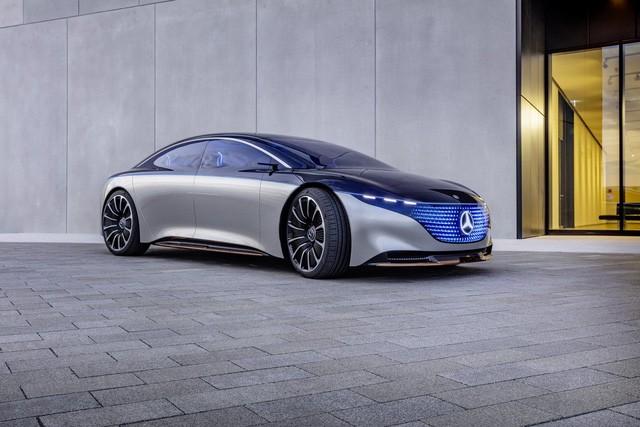 Chiêm ngưỡng Mercedes Vision EQS: Đỉnh cao thiết kế từ trong ra ngoài - Hình 9