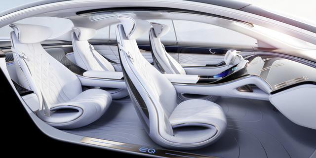 Chiêm ngưỡng Mercedes Vision EQS: Đỉnh cao thiết kế từ trong ra ngoài - Hình 8