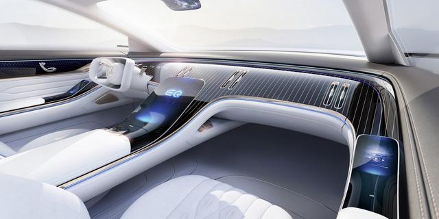 Chiêm ngưỡng Mercedes Vision EQS: Đỉnh cao thiết kế từ trong ra ngoài - Hình 7