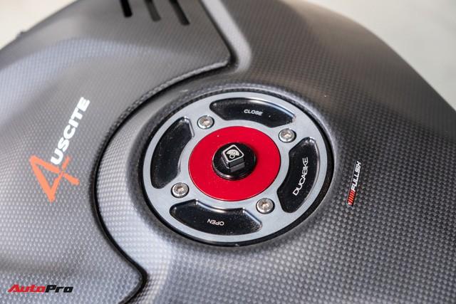 Ducati V4S độ hơn gần 800 triệu tiền đồ chơi chủ nhân người An Giang - Hình 13