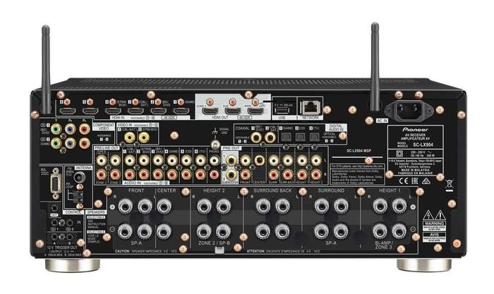 Pioneer giới thiệu bộ đôi receiver đầu bảng SC-LX904 / SC-LX704 và đầu đọc SACD mới - Hình 2