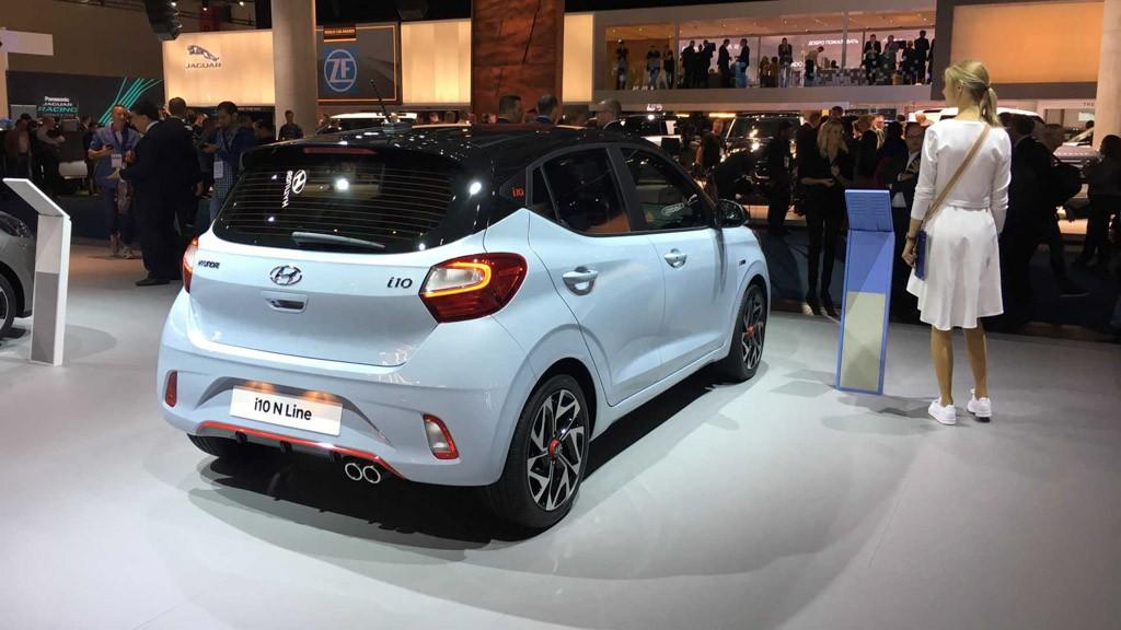 Ra mắt Hyundai i10 N Line 2020 dùng động cơ 1.0L tăng áp và số sàn - Hình 8