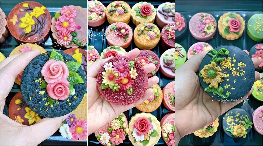 Trung thu đến sớm với mẻ bánh hoa nổi từ food blogger Tô Hưng Giang - Hình 5