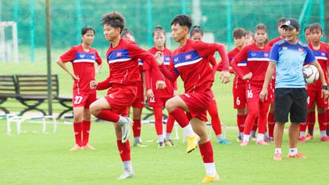U16 nữ Việt Nam gấp rút chuẩn bị cho VCK U16 nữ châu Á 2019 - Hình 1