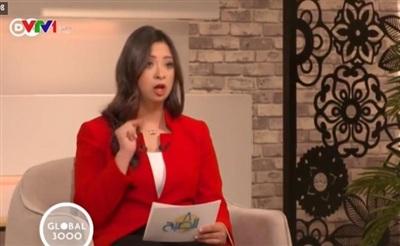 Cô gái bị bệnh Down trở thành MC kênh truyền hình nổi tiếng - Hình 1