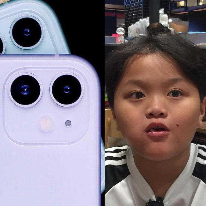 Cụm camera 3 ống kính như trò đùa của iPhone 11 được lấy cảm hứng từ cậu bé sún răng học lớp 4 ở Bạc Liêu? - Hình 1