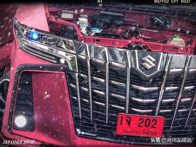 Dân chơi độ bán tải Suzuki Carry sang phong cách 'chuyên cơ mặt đất' Toyota Alphard - Hình 2