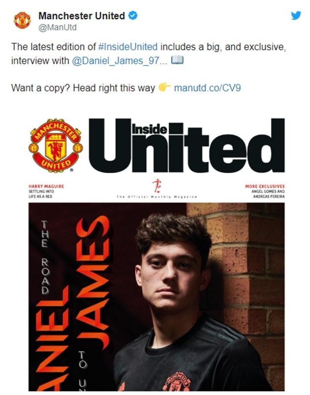Daniel James: Họ là cầu thủ thứ 12 của Man Utd - Hình 1