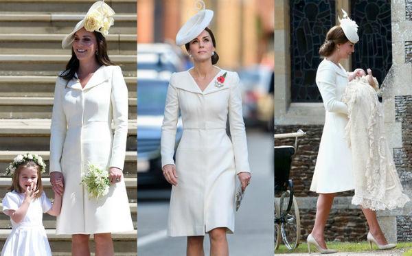 Dè sẻn như công nương Kate: mua đầm 50 triệu nhưng xài giày cũ và đeo hoa tai 150 nghìn - Hình 14
