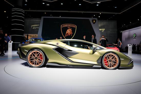 Frankfurt Motor Show 2019: Lamborghini trưng bày siêu phẩm Sian hoàn toàn mới - Hình 12