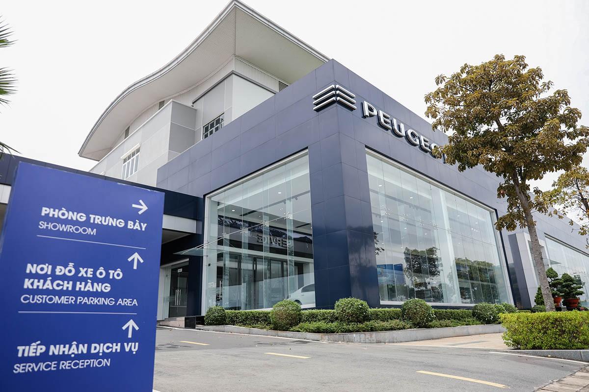 Hệ thống showroom Peugeot chuẩn 3S toàn cầu tại Việt Nam - Hình 2
