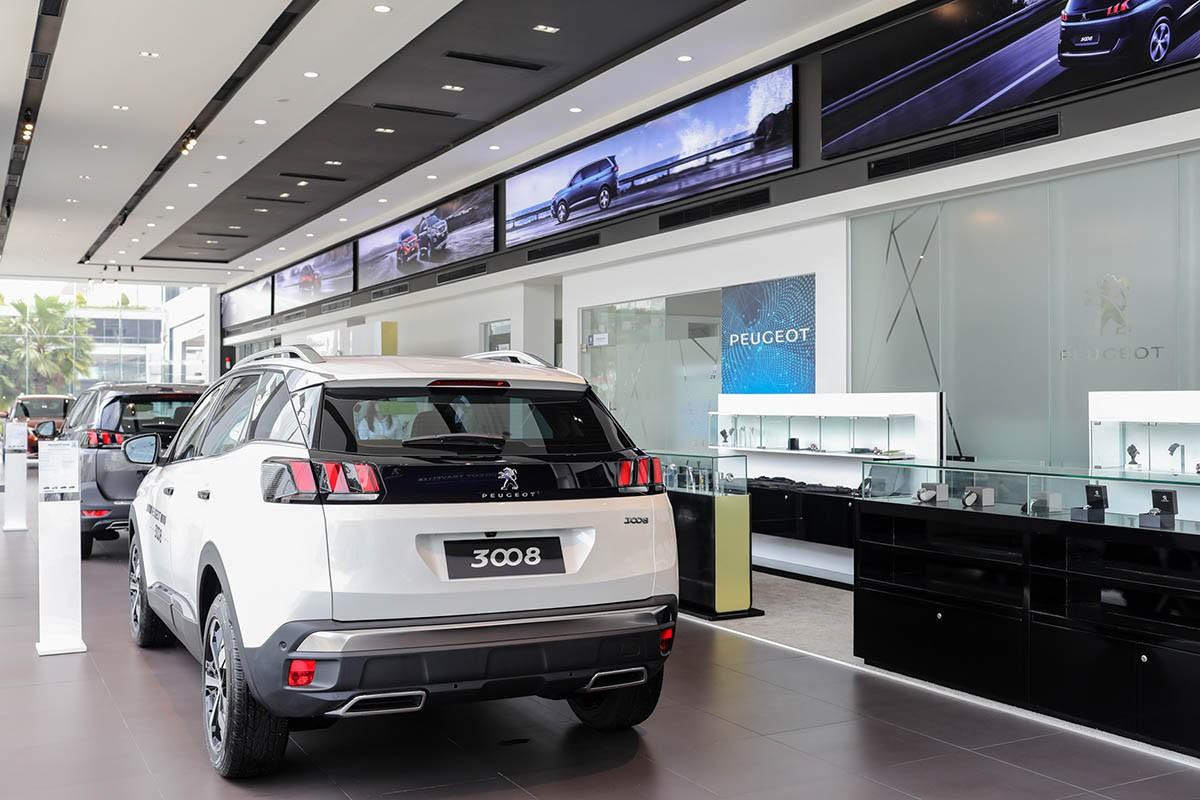 Hệ thống showroom Peugeot chuẩn 3S toàn cầu tại Việt Nam - Hình 8