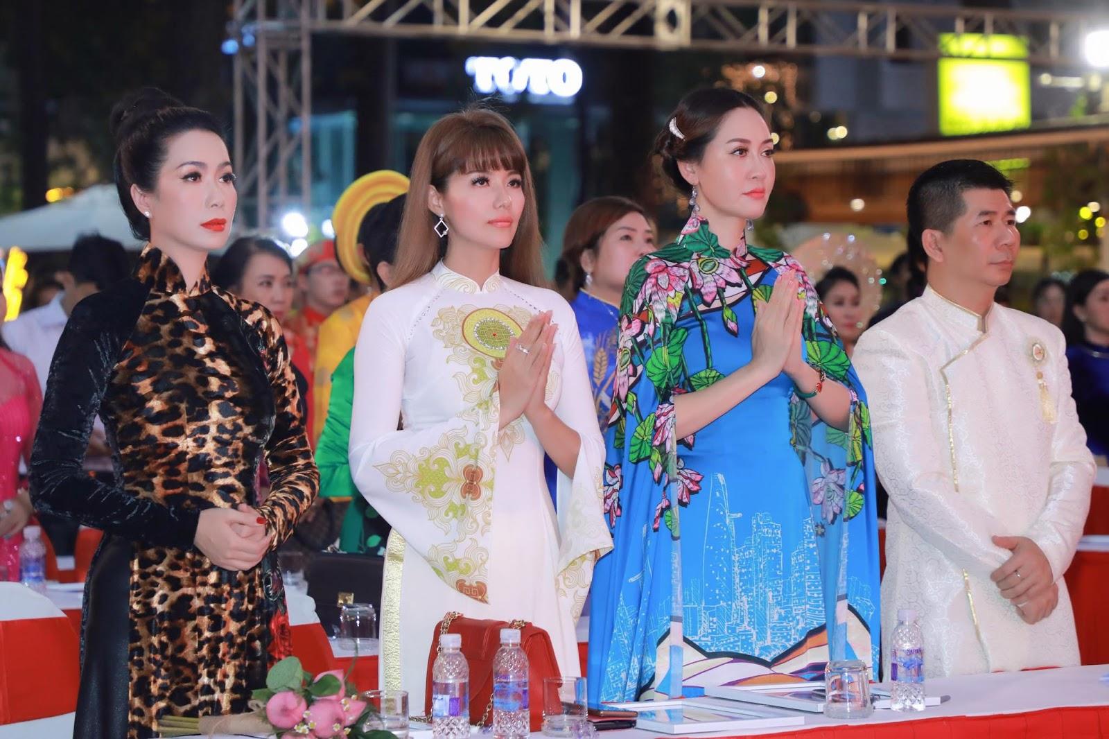Hoa hậu Đàm Lưu Ly cùng dàn nghệ sỹ hướng về ngày giỗ Tổ sân khấu - Hình 1