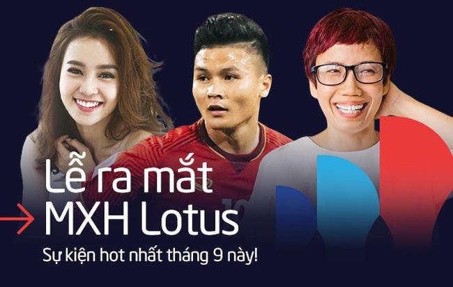 Lễ ra mắt MXH Lotus chính là sự kiện hot nhất tháng 9: Gây bão từ chiếc thiệp mời, dự kiến quy tụ hàng trăm celebs, creators hàng đầu Việt Nam - Hình 1