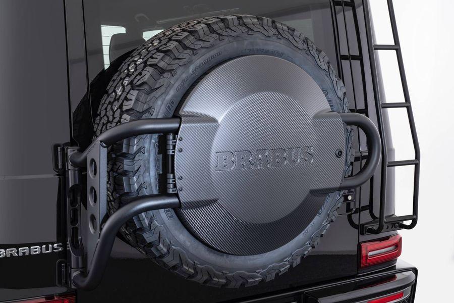 Mercedes G-Class Brabus Adventure gây ấn tượng tại gian hàng Brabus - Hình 2