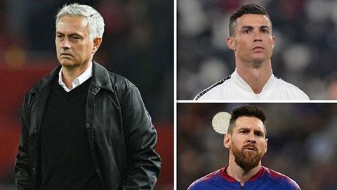 Mourinho khép lại cuộc tranh cãi thế kỷ về Ronaldo và Messi - Hình 1