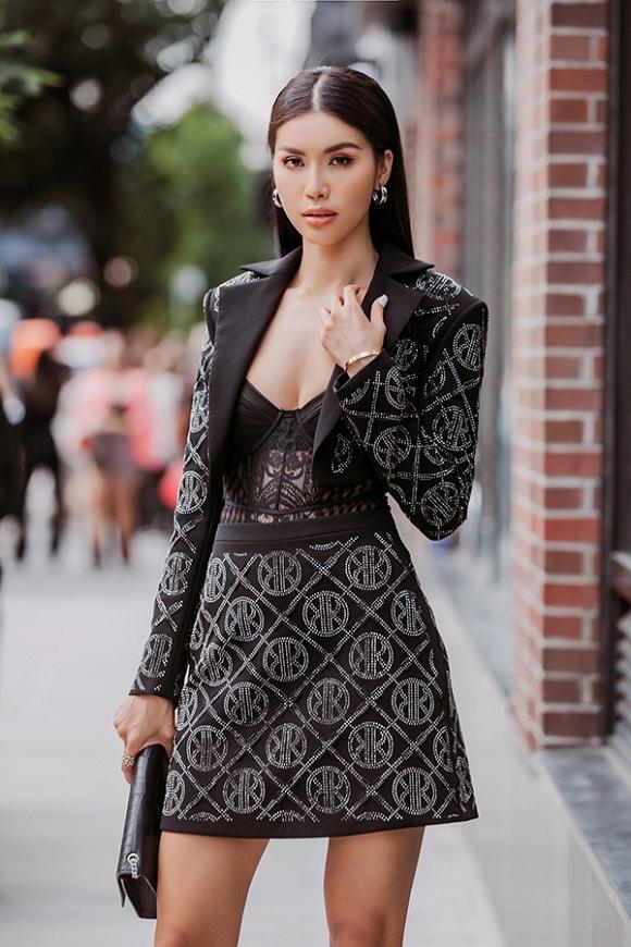 Minh Tú lúc lạnh lùng cá tính, lúc dịu dàng như thơ tại Tuần lễ thời trang quốc tế New York - Hình 7