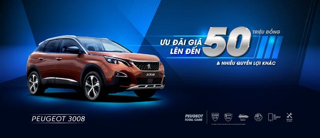 Peugeot ưu đãi giá lên đến 50 triệu và nhiều quyền lợi hấp dẫn khác - Hình 1