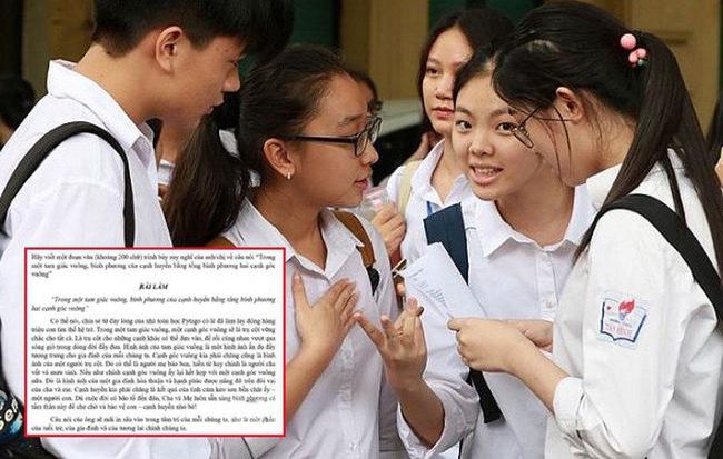 Giáo viên ra đề Văn không đỡ nổi nhưng bài làm của học sinh mới thực sự khiến người người nể phục - Hình 1