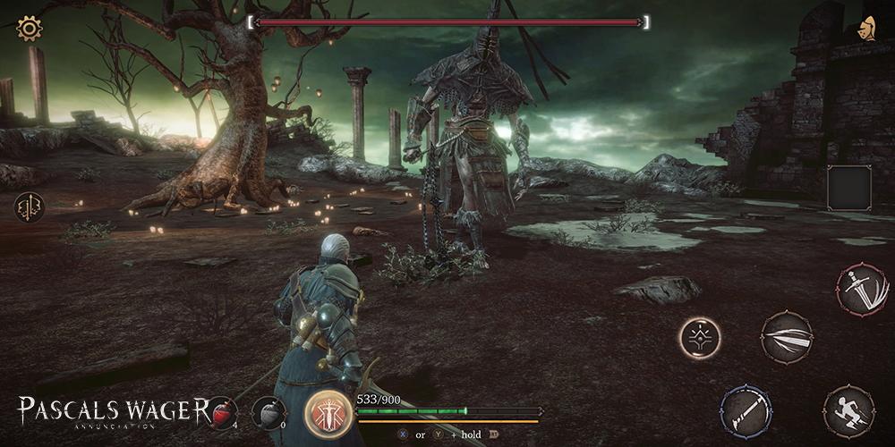 Pascal's Wager, game ARPG đen tối sẽ được phát triển như Dark Souls cho mobile - Hình 1