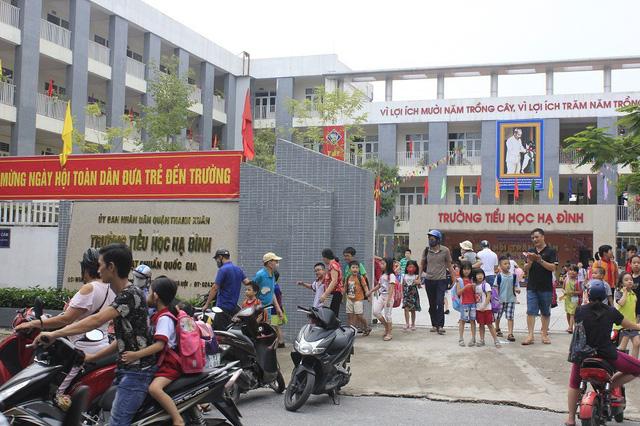 Phường Hạ Đình, quận Thanh Xuân, Hà Nội: Học sinh nghỉ học với nhiều lý do - Hình 1