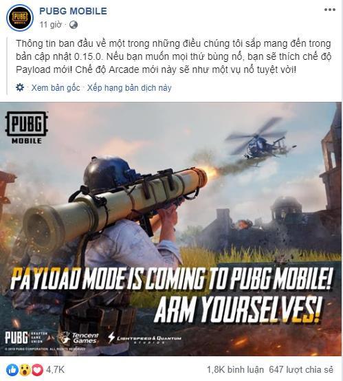 PUBG Mobile rục rịch ra mắt chế độ dùng Rocket bắn hạ cả trực thăng như phim hành động - Hình 1
