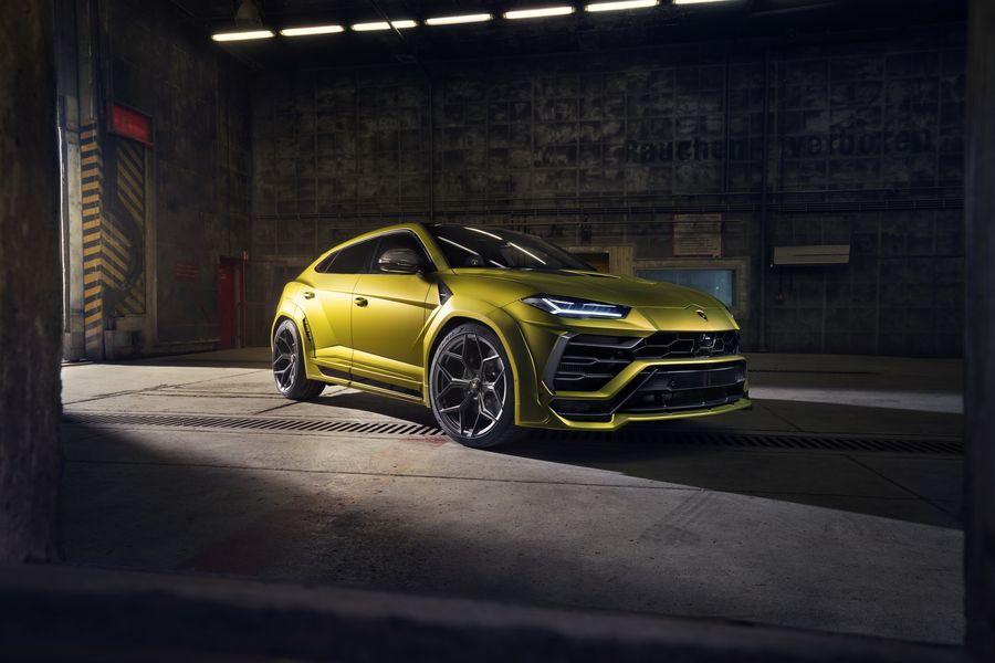 Qua tay Novitec, Lamborghini Urus trông như thể một chiếc hatchback siêu khủng - Hình 3