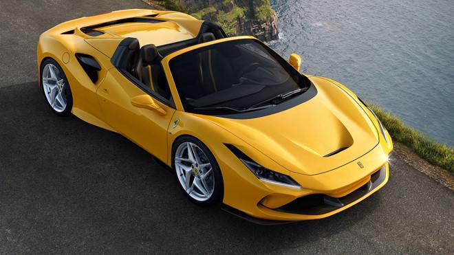Siêu xe Ferrari F8 Spider chính thức trình làng - Hình 1