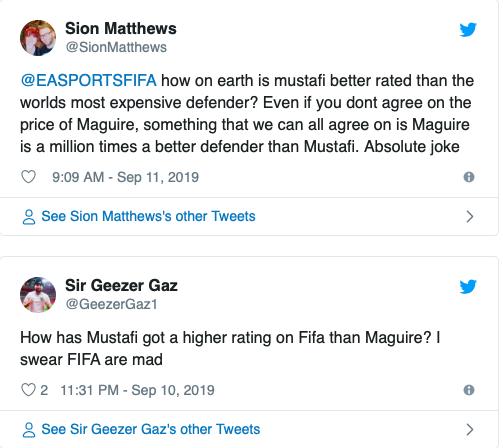 SỐC! Maguire chỉ số kém hơn cục nợ Arsenal trong FIFA 20, CĐV M.U nổi điên - Hình 2