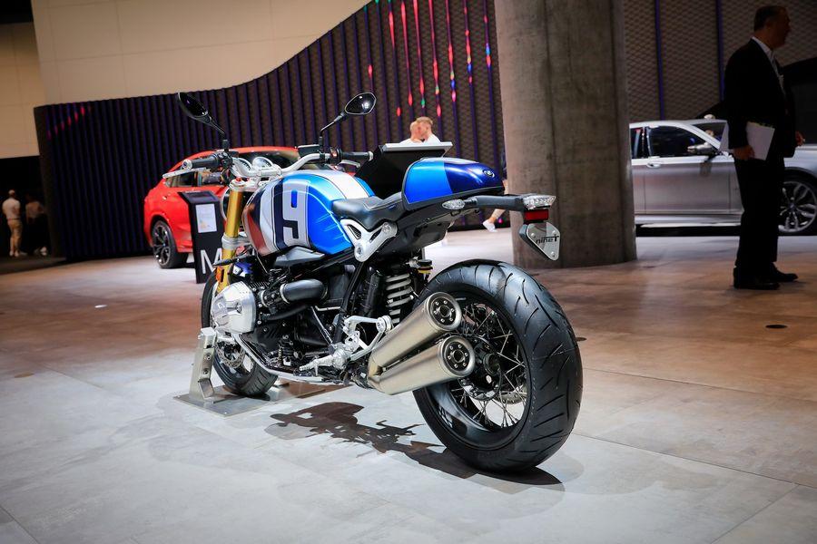 BMW Motorrad mang loạt xe đến Frankfurt 2019, bao gồm cả Vision DC Roadster Concept - Hình 5
