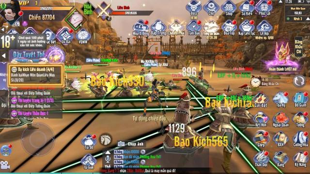 Vào game đi nhiệm vụ vẫn không có đất farm quái: Kiếm Tung 3D lần lượt công phá các BXH - Hình 10
