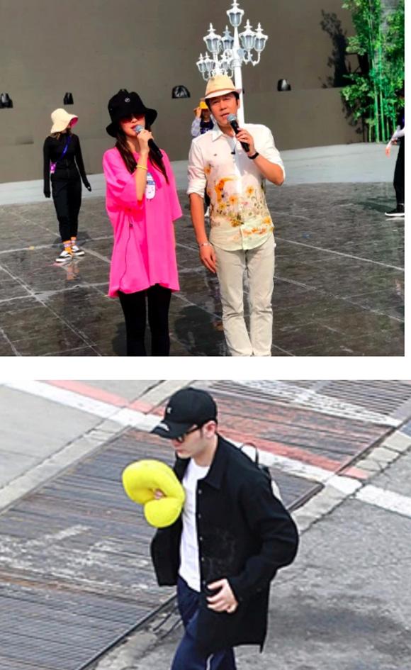 Huỳnh Hiểu Minh - Angelababy: Kẻ trước người sau lẻ bóng đến sân bay, phớt lờ câu hỏi về đối phương - Hình 12